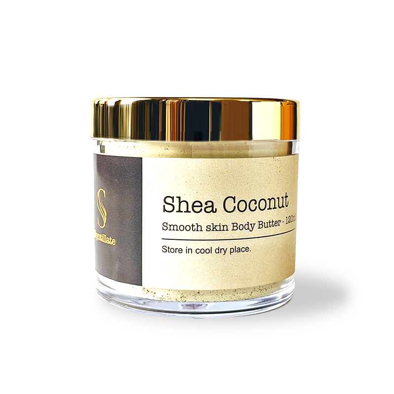 Shea coconut smooth skin body butter-